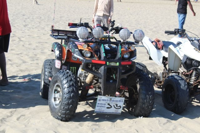 Quad Bike in Cox's Bazar